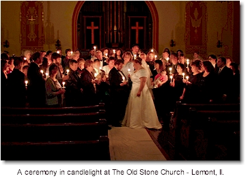 Congregational Taper Candles When Candlelight Ceremonies