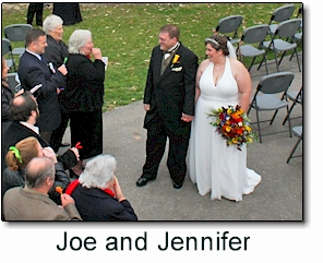 Wedding Vows of Joe and Jennifer