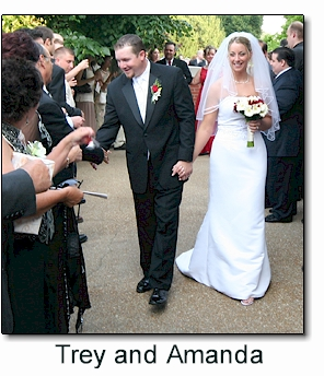 Wedding vows of Trey and Amanda