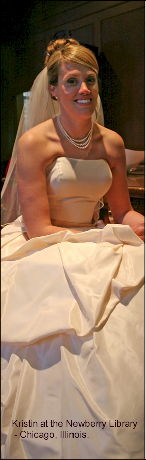 Bride at Newberry Library
